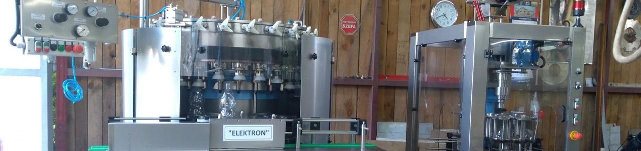Elektron - Marek Dymitrow, maszyny rozlewnicze